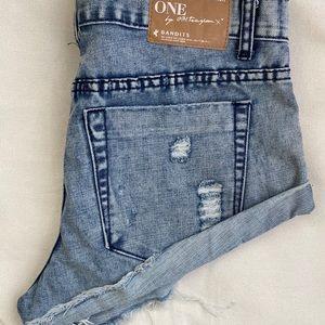 One Teaspoon bandit shorts